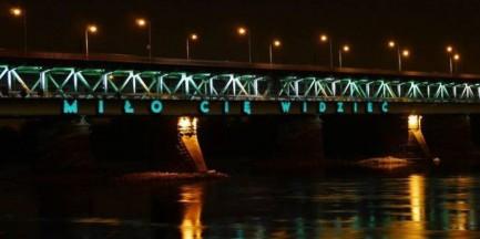 """""""Miło cię widzieć"""" zawiśnie na moście Gdańskim!"""