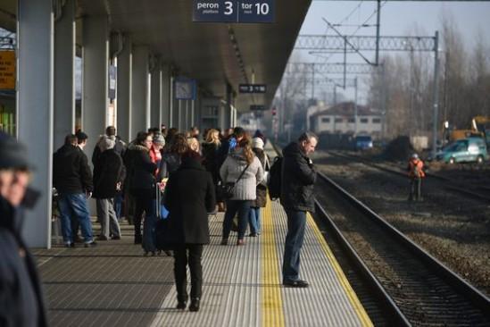Utrudnienia dotkną ok. ćwierć miliona pasażerów. Fot. Andrzej Michalik/Agencja Gazeta