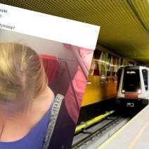 """Zrobił ukradkiem zdjęcie piersi pasażerki metra. Wiceburmistrz Ochoty tłumaczy się: """"to była matka karmiąca"""""""