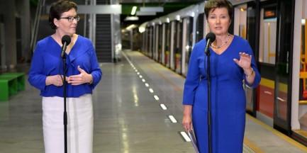 Warszawa otrzyma ponad 4 mld na transport! Priorytetem II linia metra