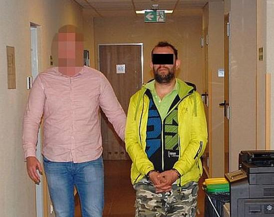 45-letni Krzysztof B. mógł skrzywdzić więcej kobiet. Fot. Policja