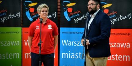 Anita Włodarczyk zostaje w Warszawie
