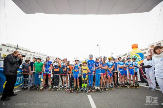 Ulicami Warszawy przejedzie II Warszawski Maraton Roller Cup