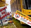 Spór o tramwaj na Gocław. Dwie manifestacje w stolicy