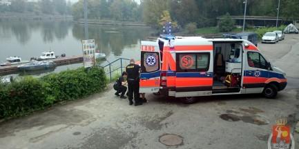 81-latka wpadła do Wisły!