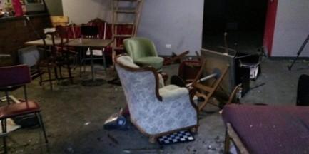 """Legia o zdemolowanym klubie: """"potępiamy, ale to sprawa dla policji"""""""