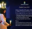 Dzień św. Łucji pod Ambasadą Szwecji