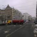 Róg Ząbkowskiej i Targowej. Trwają prace nad muralem Fot. WawaLove.pl