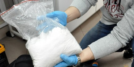 Ponad 28 kilogramów narkotyków ukrywał w piwnicy