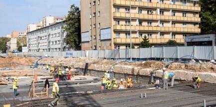 Awaria gazociągu na budowie metra. Mieszkańcom odłączono gaz