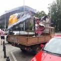 Zniszczony samochód. Fot. stopaborcji.pl