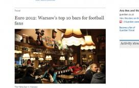 """Brytyjski """"The Guardian"""" chwali warszawskie lokale"""
