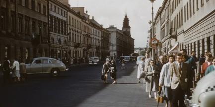 Warszawa w 1958 roku [ZDJĘCIA]