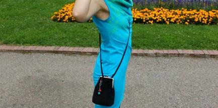 Moda uliczna - Róża w błękicie