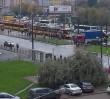 Ciężarówka zerwała sieć trakcyjną na Woli. Poważne utrudnienia w ruchu