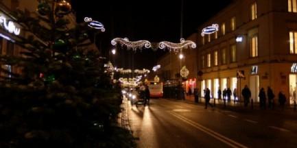 Iluminacja świąteczna bez Nowego Światu?