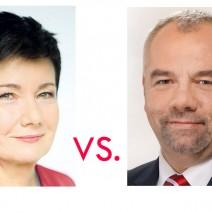 Hanna Gronkiewicz-Waltz i Jacek Sasin. Co ich różni?
