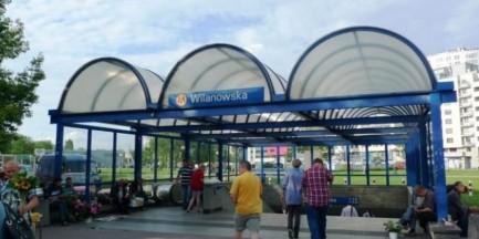 Kłopotliwa przebudowa Wilanowskiej. Czy pasażerowie dotrą na pętlę?