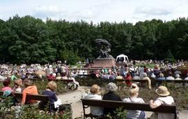 Pamiętajcie o koncertach chopinowskich w Łazienkach!
