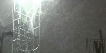 """Marcowa śnieżyca w Warszawie. """"Najprawdopodobniej to nie ostatnie opady w marcu"""" [WIDEO]"""