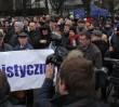"""""""Kultura, nie kult"""". Protest przeciwko finansowaniu świątyni [WIDEO]"""