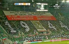 Kibice Śląska oddali hołd powstańcom (WIDEO)!