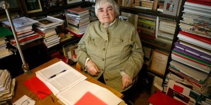 """Maria Janion kończy 90 lat. Studenci mówią o niej """"Mistrzyni"""""""