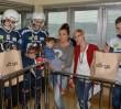 Warsaw Sharks z wizytą u małych pacjentów Centrum Zdrowia Dziecka