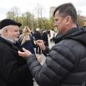 """WARSZAWA 74. ROCZNICA POWSTANIA W GETCIE WARSZAWSKIM. Akcja """"Żonkile"""". Fot. PAP/Radek Pietruszka"""