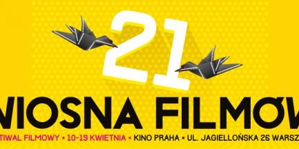 21. Festiwal Filmowy Wiosna Filmów. Bilety za 7 zł!