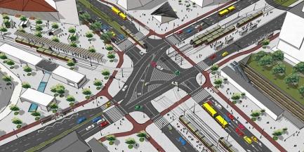 Zmienią Plac Zawiszy w plac miejski? [WIZUALIZACJE]
