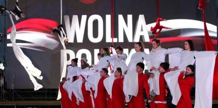 Dziś Taniec Wolności w Multimedialnym Parku Fontann [WIDEO]