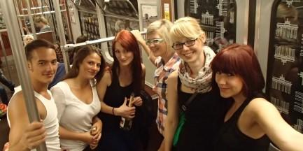 Wielka impreza w metrze!